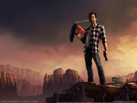 Alan Wake's American Nightmare poster