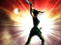 <em>CLASSIC:</em> Baldur's Gate: Dark Alliance poster