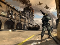 Battlefield 2 poster