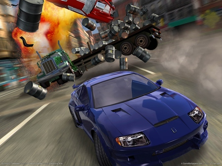 Burnout 3: Takedown poster #520