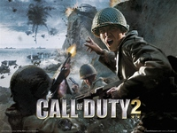 Call of Duty 2 poster