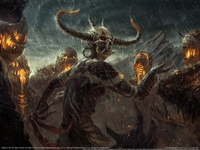 Diablo 3 Fan Art poster
