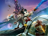 Disney Epic Mickey 2: The Power of Two poster