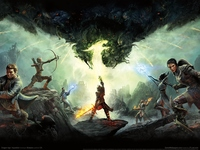 Dragon Age: Inquisition poster