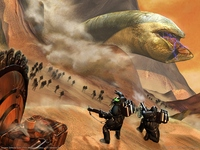 Emperor: Battle for Dune poster