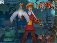 Escape from Monkey Island poster