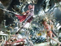 Final Fantasy XIII poster
