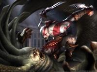 God of War 2 poster