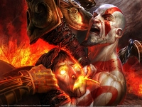 God of War 3 poster