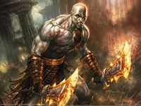 God of War Comic poster