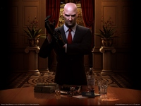 <em>CLASSIC:</em> Hitman: Blood Money poster