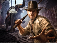 Indiana Jones and the Staff of Kings poster