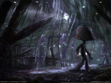 Mushroom Men poster #2668