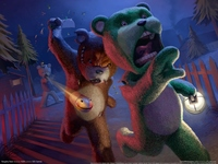 Naughty Bear poster