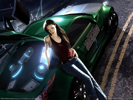 Need for Speed Underground 2 poster #2723